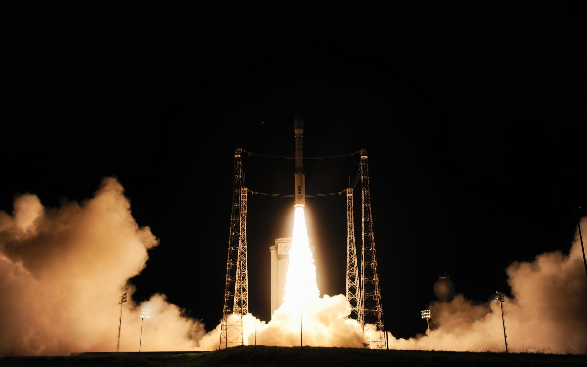 Successful launch of LISA Pathfinder on VV06